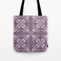 calligraphy Tote Bags featuring Calligraphy by David Zydd