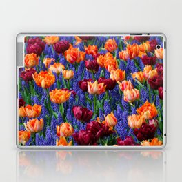 Flowerbed Medley Laptop & iPad Skin