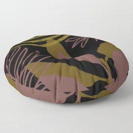 Botanical Blush Pink Floor Pillow