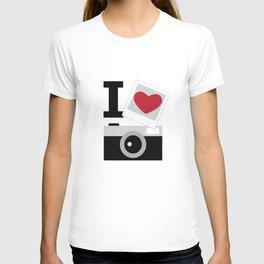 I love camera T-shirt