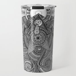 Tiny Geometries Travel Mug