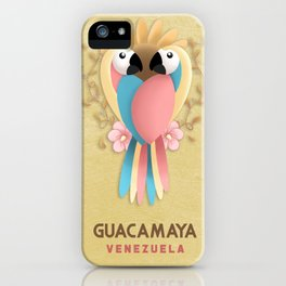 Guacamaya - Animals of Venezuela iPhone Case