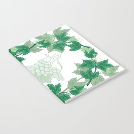Abstract frame from grapevines Notebook