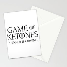 Keto Diet - Game of Ketones Stationery Cards