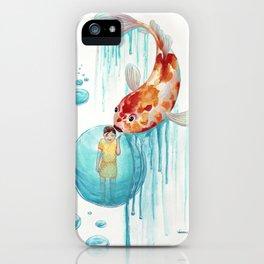 Fish kiss iPhone Case