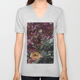 Dried Posies Unisex V-Neck