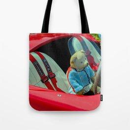 BEARY NICE CAR Tote Bag