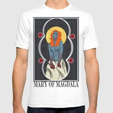 Mary of Magdala White Mens Fitted Tee SMALL