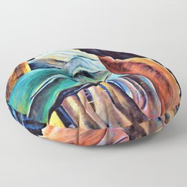 12,000pixel-500dpi - Emily Carr - Forest, British Columbia - Digital Remastered Edition Floor Pillow