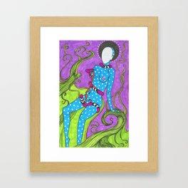 Snake Bite Framed Art Print