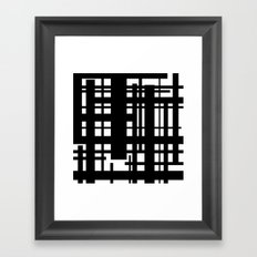 Bridges Inverse Framed Art Print