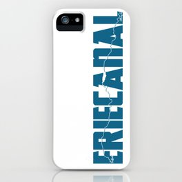 Erie Canal iPhone Case