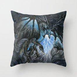 Storm Bringer Throw Pillow