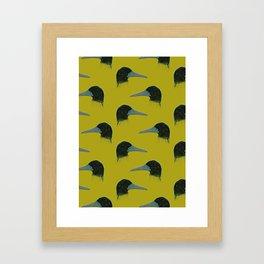 Exotic Bird Framed Art Print