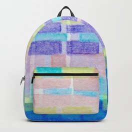 Watercolor pastels Backpack