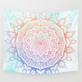 Floral Mandala Wall Tapestry