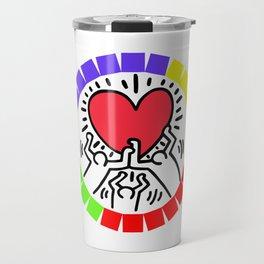 LOVE KEITH HARING Travel Mug