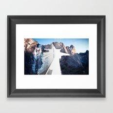 'Portal' Framed Art Print