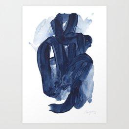 Indigo #5 Art Print