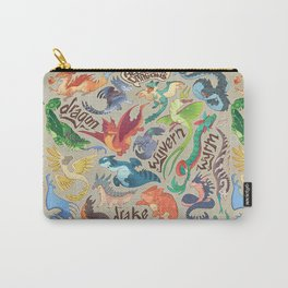 Mini Dragon Compendium Carry-All Pouch
