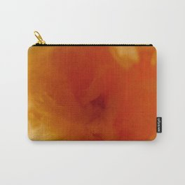 Textures (Orange version) Carry-All Pouch