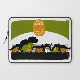 UNUSUAL SUSPECTS : Isla Nublar Laptop Sleeve