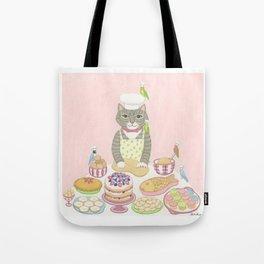 Baker Cat Tote Bag