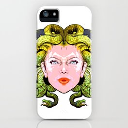 Medusa The Gorgon iPhone Case