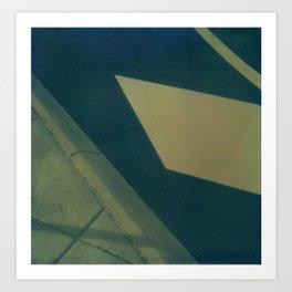 Street Abstraction Polaroid Art Print