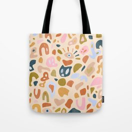 Abstract Paper Cuts Tote Bag