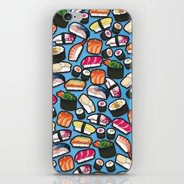 Sushi Blue iPhone Skin