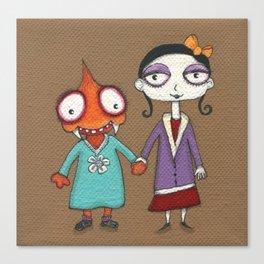 Helen & Trudy Canvas Print