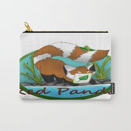 Red panda (paper face) Carry-All Pouch