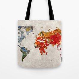 World Map 49 Tote Bag