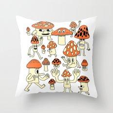 Fun Guys Throw Pillow