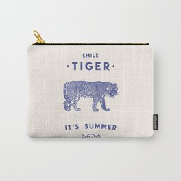Smile Tiger, it's Summer Carry-All Pouch