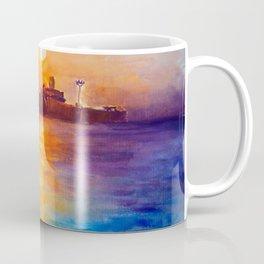 The Evangelia wreckship at Costinesti Coffee Mug