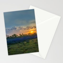 Daybreak In The Land Of Bluebonnets Stationery Cards