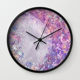 Mysterious Moon Reverie Wall Clock