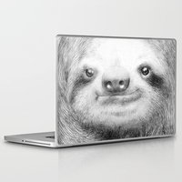 sloth Laptop & iPad Skins featuring Sloth by Eric Fan