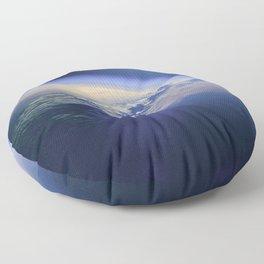 Indian Ocean Seen From Space Floor Pillow
