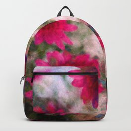 flowers abstract Backpack