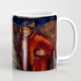 "Edward Burne-Jones ""Merlin and Nimue from Le Morte d'Arthur"" Coffee Mug"