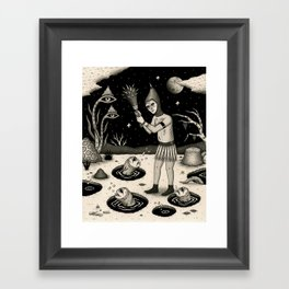 What Must Be Done Framed Art Print