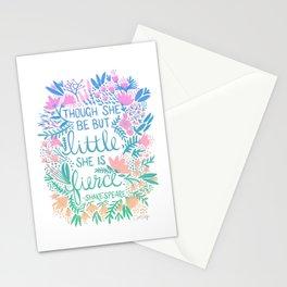 Little & Fierce – Lavender Mint Ombré Stationery Cards