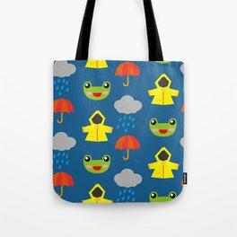 rainy days (Children's pattern) Tote Bag