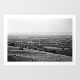 A View From Selsley Art Print