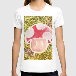 One Upper Mushroom zendoodle T-shirt