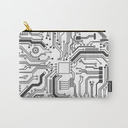 Circuit Board Art Carry-All Pouch