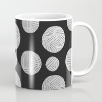 polka Mugs featuring polka by spinL